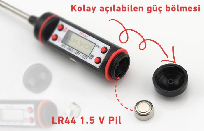 tp101 problu sıcaklık ölçer