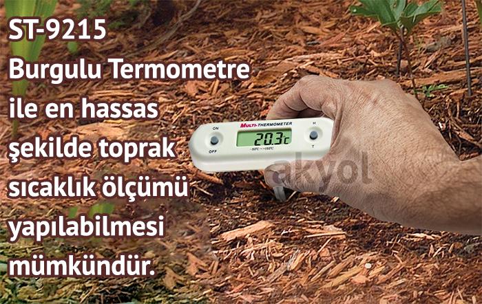burgulu termometre