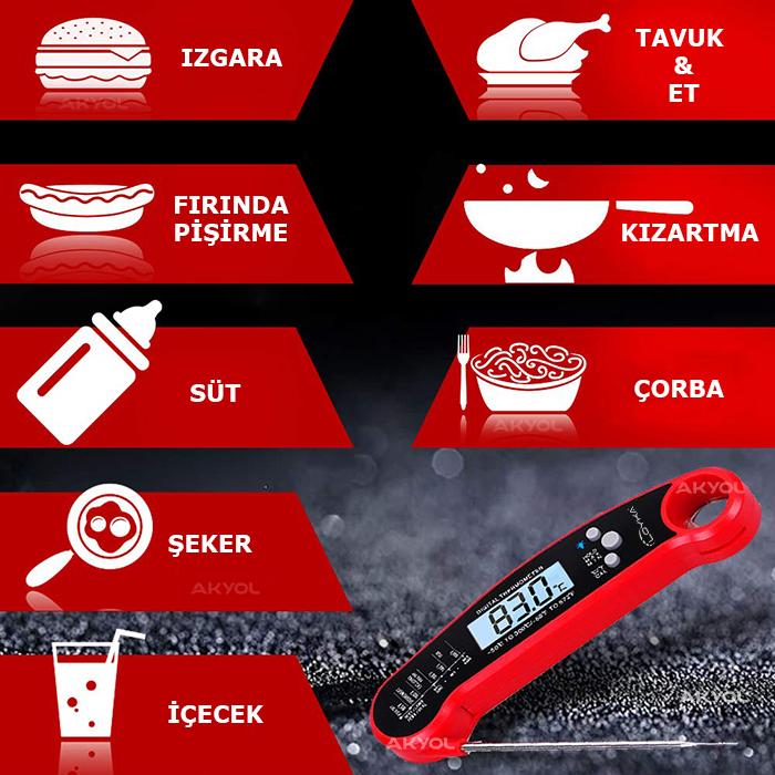 INNO 502 gıda termometresi