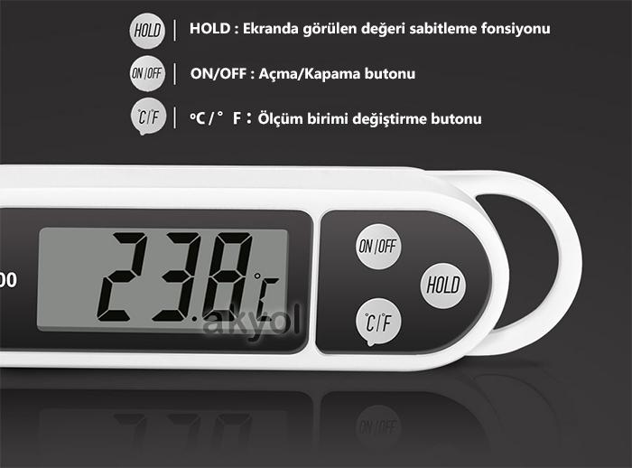 kgb300 termometre