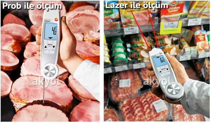 testo 104 gıda termometresi
