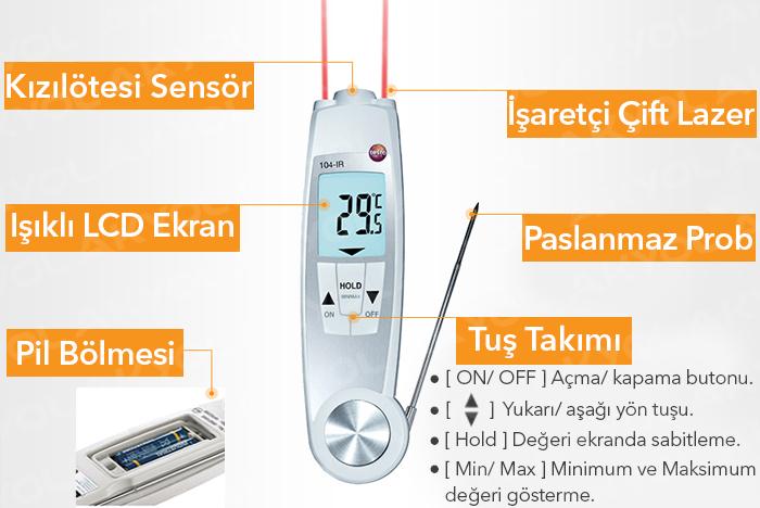su geçirmez termometre