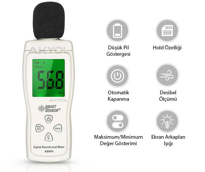 as-804-dijital-ses-ölçer