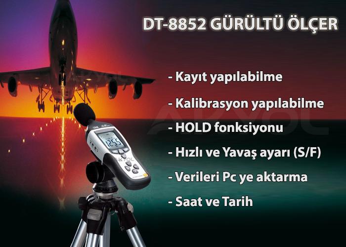 cem dt-8852 ses ölçer