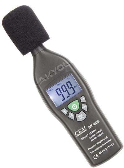 dt-805 ses gürültü ölçer
