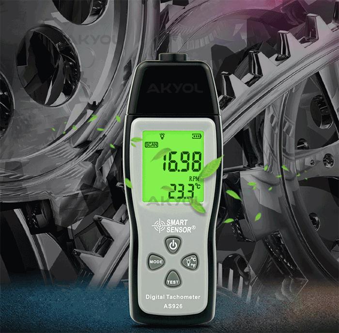 smart sensor as926 devir ölçer