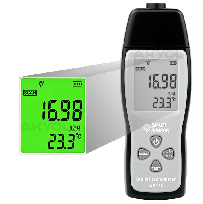 Smart-sensor-as926-takometre