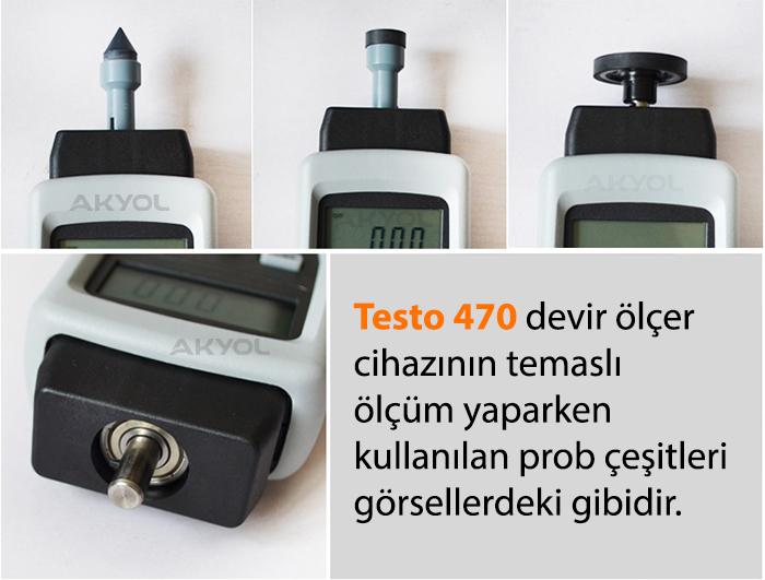 Testo 470 devir ölçer