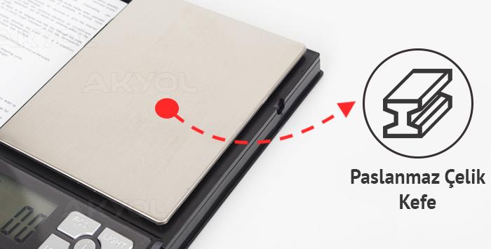 laptop kapaklı terazi