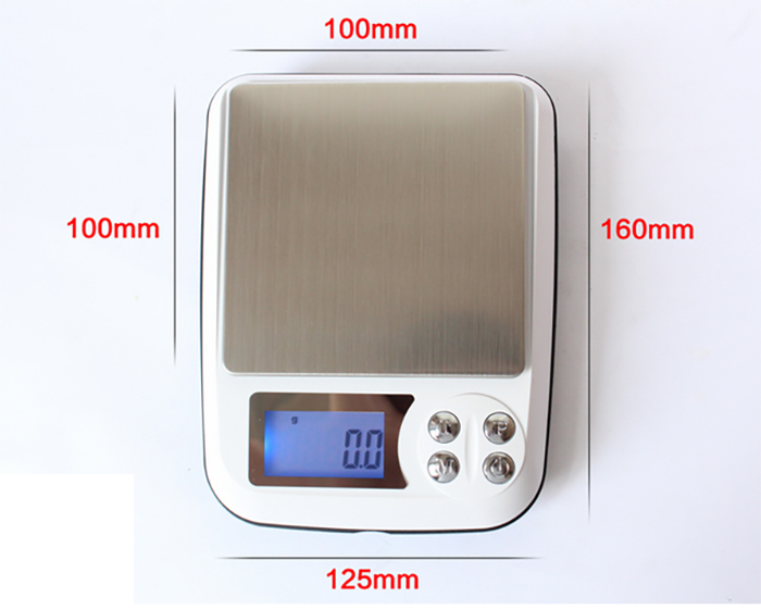 500 gram kapasiteli hassas terazi