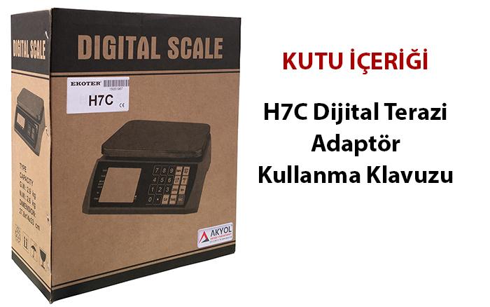 h7c dijital terazi