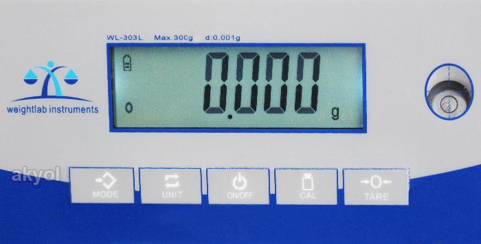 wl-303L dijital hassas terazi