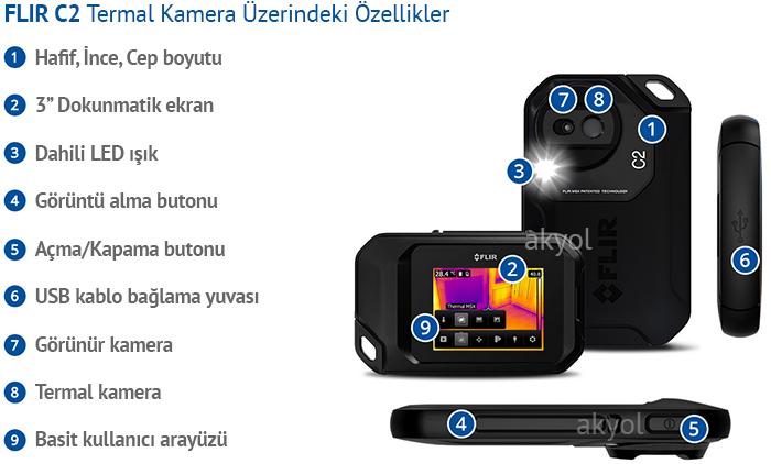 flir c2 termal kamera