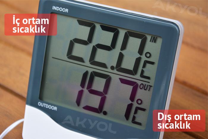 dış ortam sıcaklık ölçer