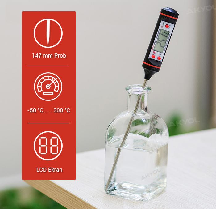 9263 saplamalı prob termometre