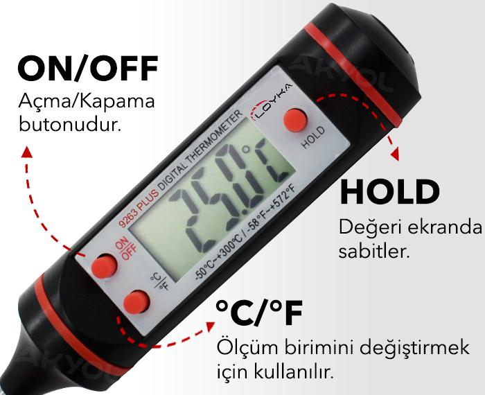 loyka 9263 gıda termometresi