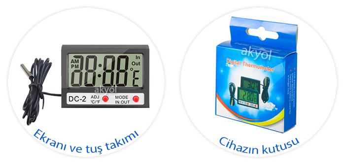kablolu termometre