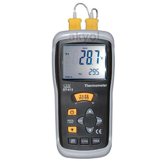 dt 613 k tipi termometre