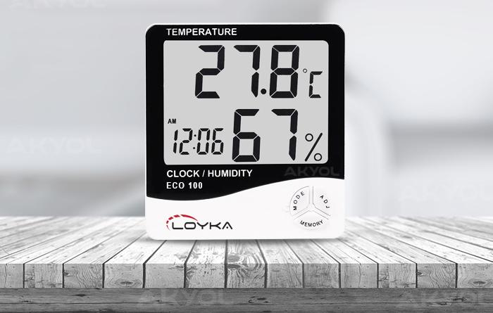 eco 100 ortam sıcaklık ölçer