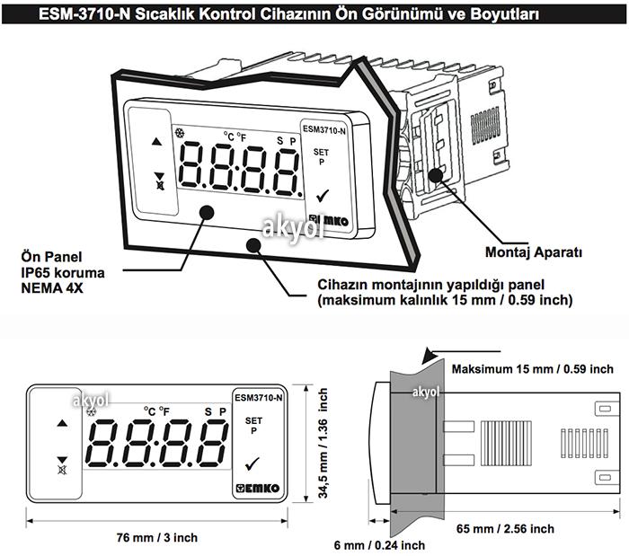 dijital termostat