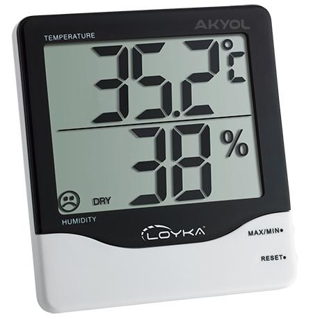 Loyka-hygrotherm-sıcaklık-nem-ölçer