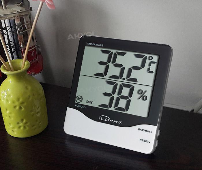 Loyka-hygrotherm-sıcaklık-ve-nem-ölçer