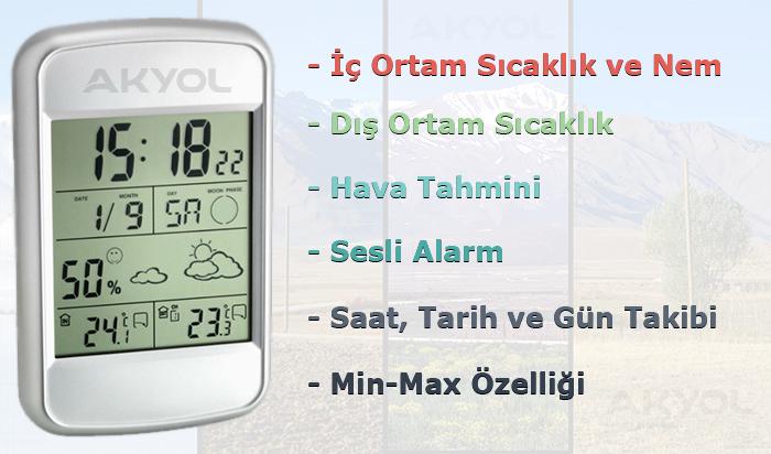 TFA Look hava-tahminli-termometre