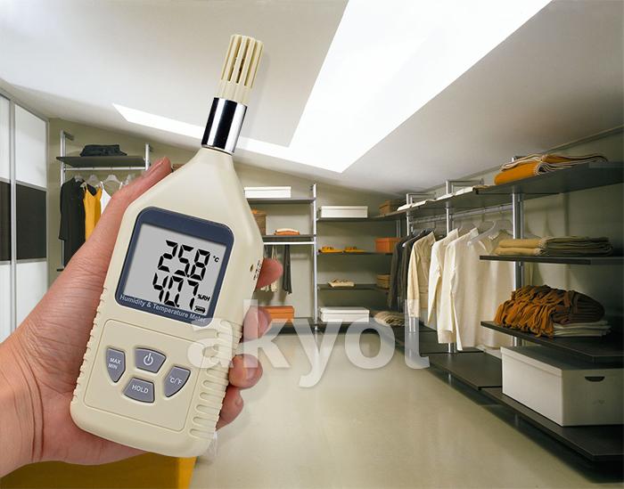 digital ısı nem ölçer