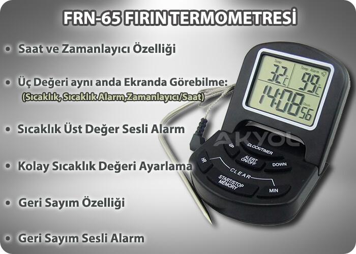 fırın termometresi