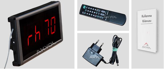 stn-574 ışıklı termometre