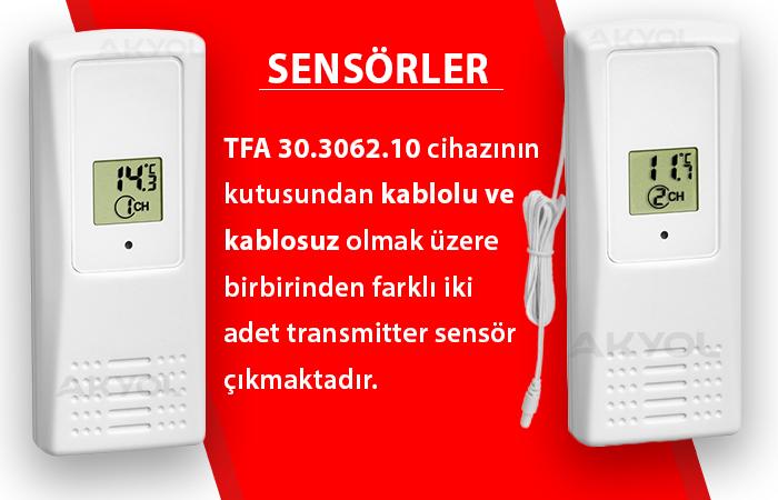 tfa kablosuz termometre