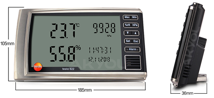 testo 622 higrometre