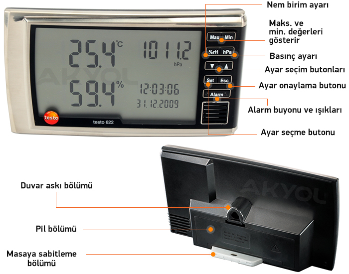 testo nem ölçüm cihazı