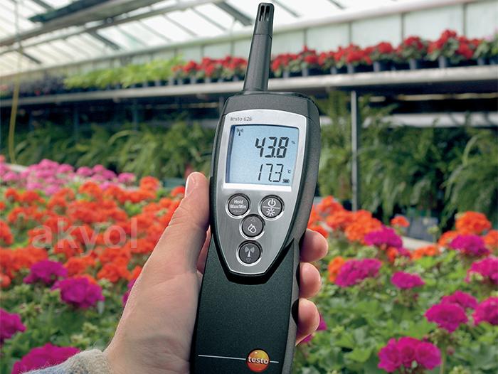 Testo 625 ortam sıcaklık ve nem ölçer