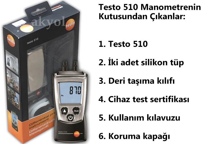 testo 510 manometre