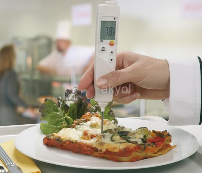 Testo 106 gıda termometresi