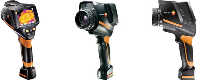 Testo 875 termal kamera sıcaklık ve su kaçağı tespit cihazı