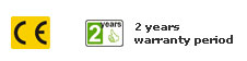 2 yıl garanti
